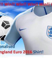 Euro 2016 England shirt
