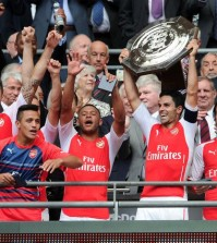Arsenal 3-0 Manchester City Community Shield