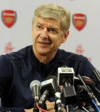 Arsene Wenger at press conference