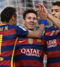 Neymar + Messi + Suarez